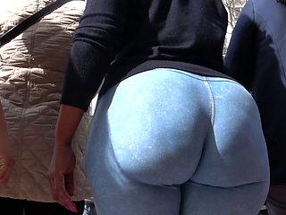 Huge Candid Booty