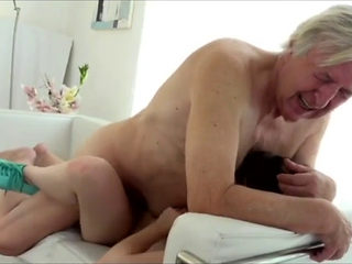 Grandfather Fucking His Granddaughter While Doing His Homework