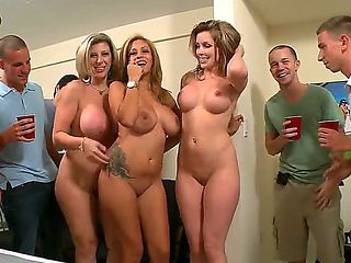 Courtney Cummz, Jamie Valentine and Sara Jay might be a bit too old to study in college  but it d...