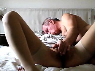 slut milf Carill suck on bed perfect whore hidden cam