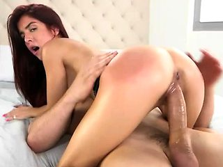 Vanessa Phoenix squirts and pussy banged by huge hard cock
