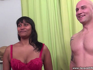 French Indian Lady Vanessa In A Gang Bang!