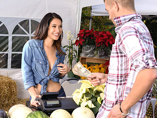 Eva Lovia & Xander Corvus in The Farmers Wife - Brazzers