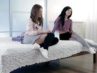 two young college girls - Part2 on SugarCamGirls.com