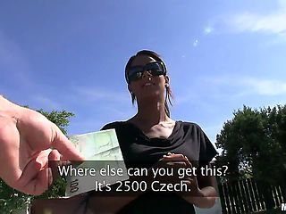 Getting Czech girls to do all kinds of kink in front of the camera is easy as pie, just like Isab...