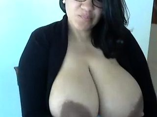 massive boobs chubby latina showing off webcam bbw pt2