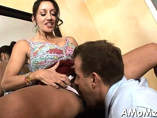 Sexy aged wants to feel cock deep in her soaking snatch