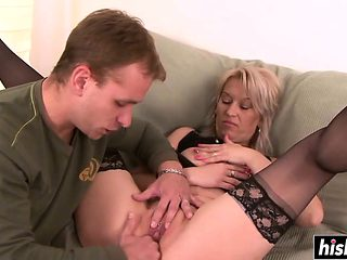 Sexy housewife gets drilled in hardcore fashion