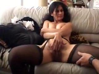 Hairy pussy mature maid fantasy