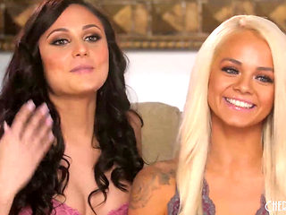 Ariana Marie And Elsa Jean Eating Each Other Out