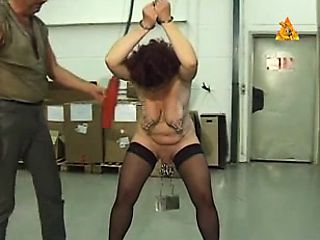 _heavy_pierced_mature_slave_heiry_with_lots_of_pussy_piercin