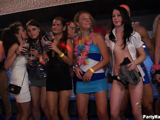 Organised party turns into a captivating orgy scene along drop dead gorgeous chicks
