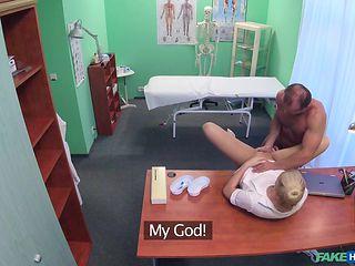 doctor fucked his new nurse