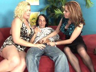 WANKZ- Naughty Cougars in Wild Foursome