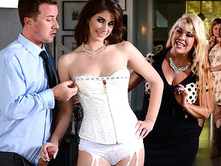 Karina White & Jessy Jones in Say Yes To Getting Fucked In Your Wedding Dress - Brazzers