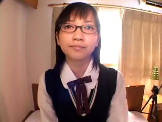 Japanese schoolgirl Fumika