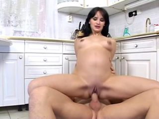 Amazing pornstar in incredible pregnant, fetish sex movie