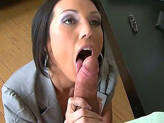 Sexy secretary Dylan Ryder seducing her boss during the work day Jack Lawrence