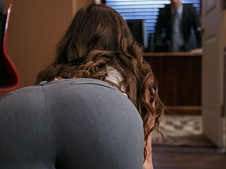 Maddy Oreilly & Preston Parker in Work Is Long When Youre Wearing A Thong - Brazzers