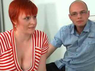 German Redhead With Big Tits Casting