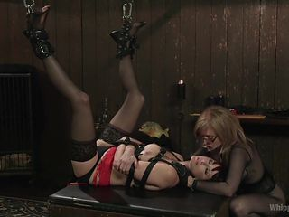 Retribution: Maitresse Madeline taken down, dominated and anally fucked by Nina Hartley!