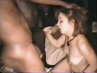 Gorgeous submissive french wife obeys hubby to suck 2