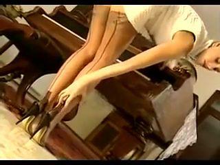 Nylon Stocking Voyeur 6