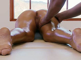 Krissy goes in for a rub at the local massage parlor. Things start normal: nice oil down, a great...