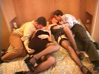 group fuck with french milfs