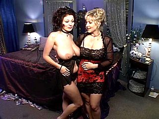Lorna Morgan In Bed With Danni Ashe