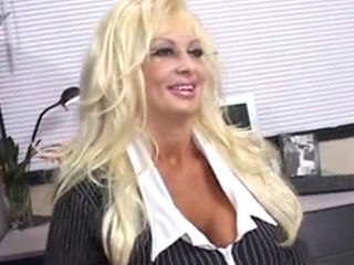 Blond Milf Brittany O'neil Masturbates With A Rubber Cock