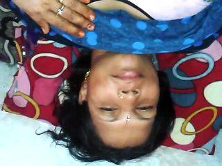 Boyfriend fucked his horny village aunty (Hindi Audio)
