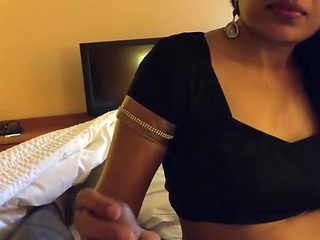 Beautiful Indian Girl Sucking Cock