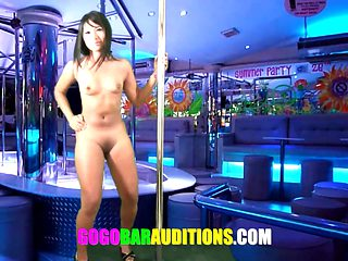 Thai girl auditions for job
