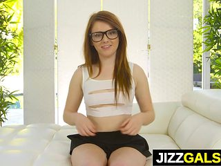 Emo teen girl Karlie Brooks gets fucked