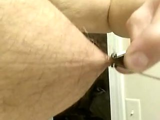 Nipple tourture with binder clips