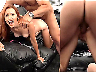 Brielle getting anal in casting