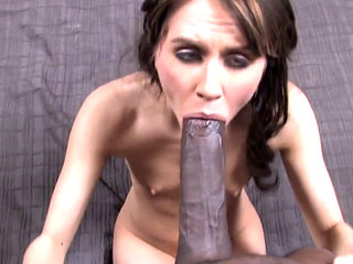 Sexy Slut Sucking And Fucking A Huge Black Cock
