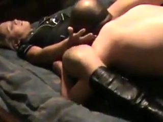 Husband Boss Fucking and Creampied Wife