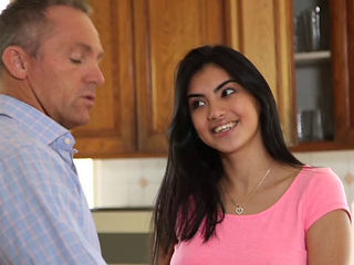 Nastyplace.org - Teen Daughter Get Her Father Hard Dick