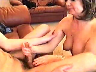 Stepmom suck cock son