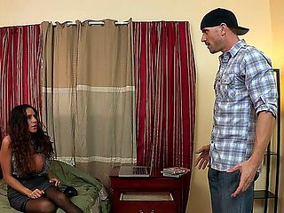 Ariella Ferrera is visiting her son at college. Little does she know shes in the wrong room, she ...