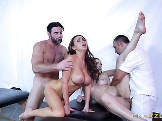 Brunette Dani Daniels is a sex pro that is ready to enjoy Keiran Lees boner in her fuck box all n...