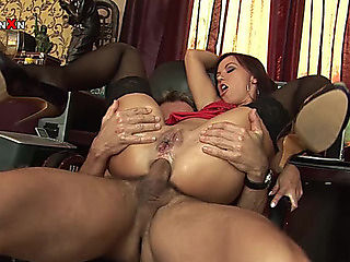 Ana Sex And Fisting For A Sexually Excited Secretary From Her Boss