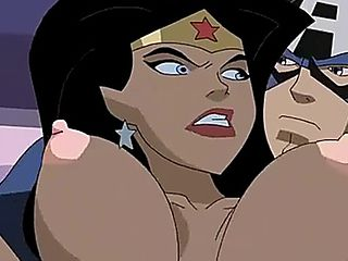 Wonder Women Fucked By Captain America