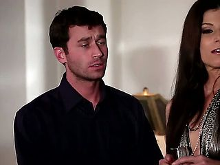 India Summer meets James Deen at the local swingers club. Despite his model looks, shes  at least...