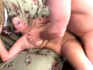 Chubby and lustful housewife indulges in a wild affair with a hung guy