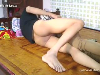 chinese young lovers homemade