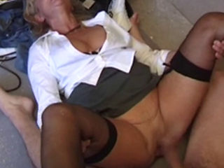 French Cougar Dirty Anal