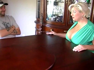 Blond Mom Claudia Marie In A Threesome